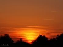 Sunset, Kent, UK