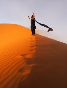 Feeling Freedom of the World's Greatest Desert
