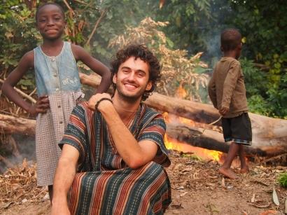 At Missahoe Children's Home, Ghana, 2015