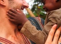 With Desmond, my Ghana Starchild.