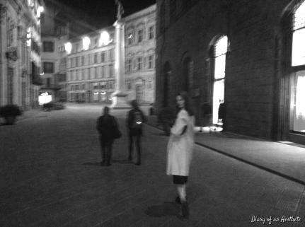 walking the streets at night...