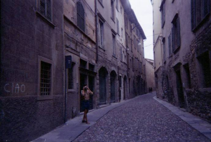 in the 'Citta Alta' - by Rose