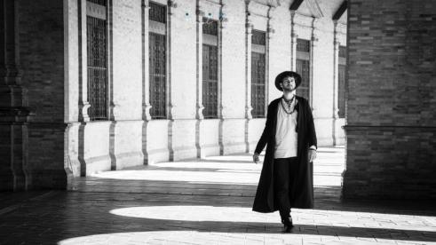 Portrait by Pavel Colon, Seville