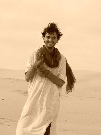 In the desert, Senegal.