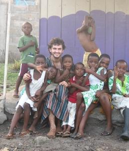 On a slum in Ho, Ghana