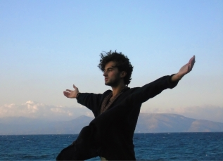 Feeling the winds of freedom on the Evian Gulf, Greece, 2014