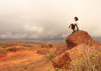 Toubab Dialaw, trekking solo.