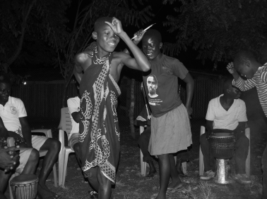 Bobor tribe dance which I partook in.