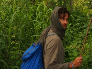 Trekking through the Bush, Ghana