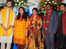 At a Hindu wedding, Bangalore, India.