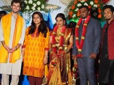 At a Hindu wedding, Bangalore, India.