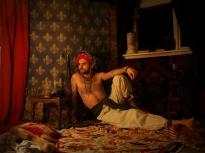 'Persian Prince', self-portrait.