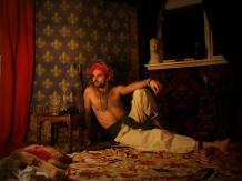 'Persian Prince', self-portrait.