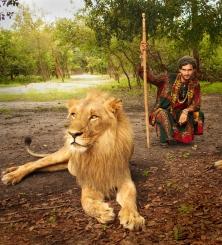 On Fathala Wildlife Reserve.