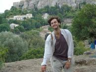 climbing the Acropolis, Athens