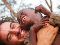 Me and my boy, Ghana 2015