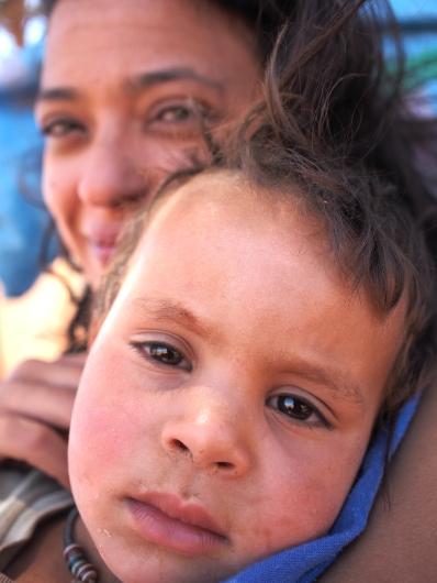 Berber Family, Moroccan Sahara