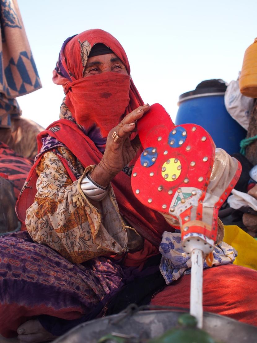 Zahra, Berber Lady in Sahara