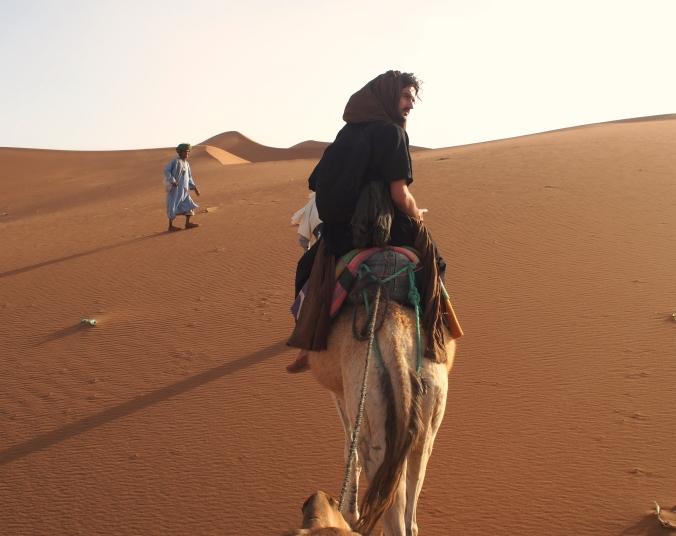 Traversing Erg Chigaga, Sahara