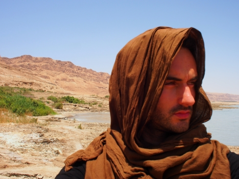 Judaean Desert self portrait