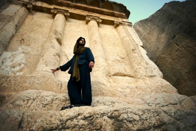 Tomb of Zechariah, Valley of Jehoshaphat, Israel.