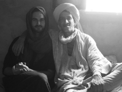 with my Tuareg brother, Nourdenne