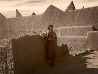 Atop a Kasbah, Morocco