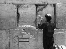 praying at the Western Wall
