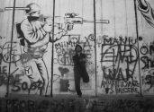 Bethlehem, at the West Bank dividing wall