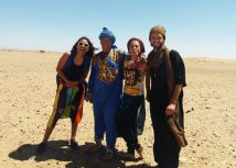 In the desert, 2017