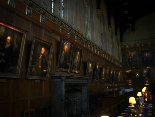 Christ Church College, Oxford University.