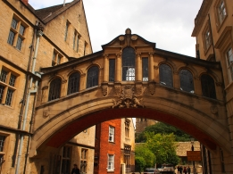 Bridge of Sighs, Oxford University.